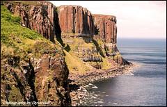 Skye Trip - A Close-up of Kilt Rock (Creag an Feilidh) (Dysartian) Tags: scotland isleofskye fife explore geology 1001nights frontpage dinosaurs tertiary kirkcaldy dysart trotternish kiltrock staffin scottishhighlands igneousrocks highlandsandislands hadrosaurs abigfave dysartian vosplusbellesphotos photographybydysartian creaganfeilidh geologicsill tertiaryoutpourings igneoussill jurassicsandstones elishadder