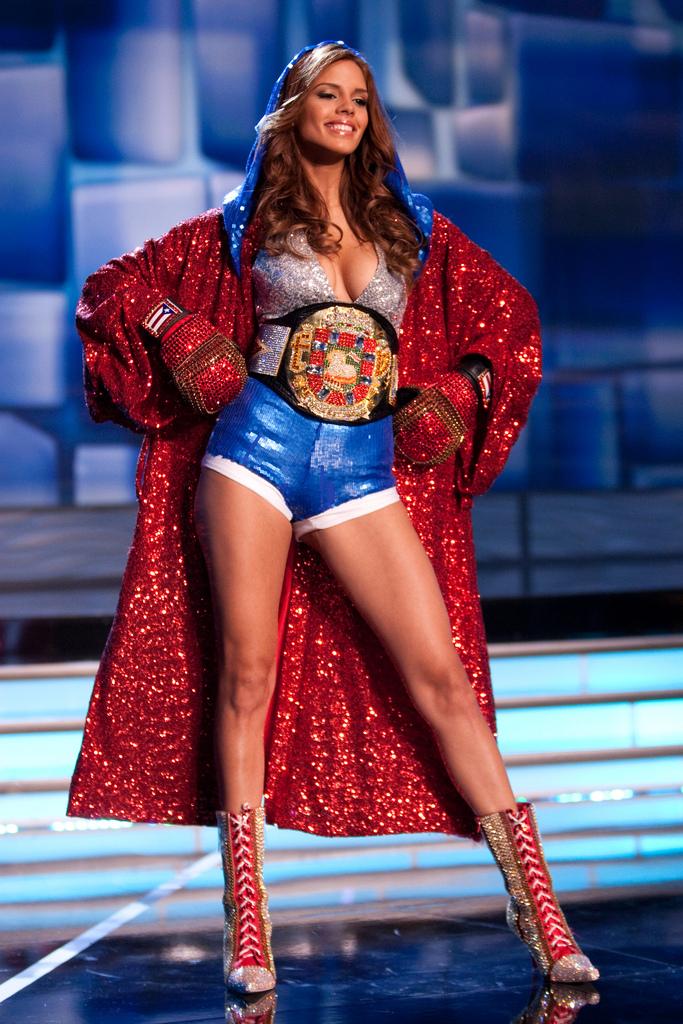 Traje Típico de Miss Puerto Rico