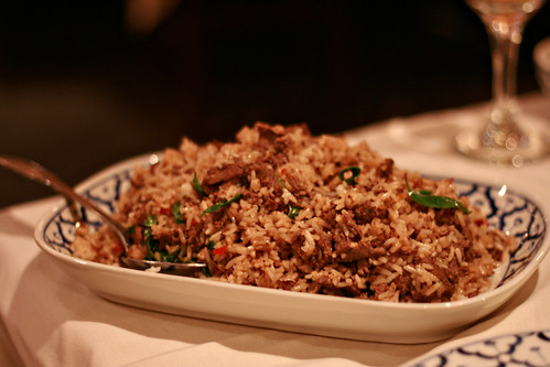 Spicy Holy Basil Fried Rice
