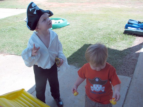 My 2 little pirates
