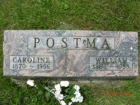 Grave of William and Caroline Postma