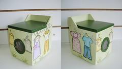 maquina de lavar roupas porta sabo em p (Imer atelie) Tags: claro verde home brasil casa minas artesanato porta decorao pintura escuro mdf roupas uberaba lavanderia enfeite cabides saboemp imeratelie maquinalavarroupas
