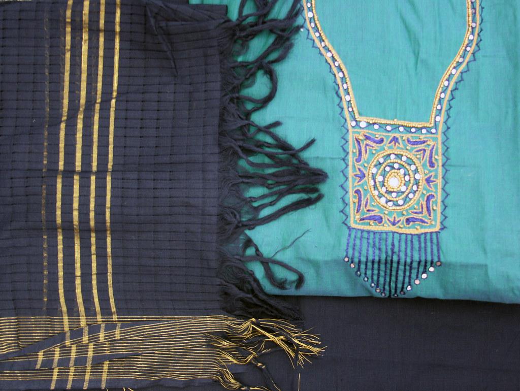 Salwar kameez fabric
