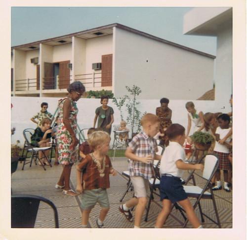 Jay in Contonou, Dahomey, 1967