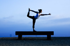 Yoga, Natarajasana (Lord of the Dance Pose) (Andrew Meyers Photography) Tags: trees india tree love nature silhouette yoga forest self pose ego bench outside outdoors freedom los woods truth king meditate peace heart angeles spirit joy peaceful compassion content dancer canyon divine desire innocence knowledge environment form meditation spirituality wisdom awareness bliss enlightenment attention surrounding enjoyment understanding forgiveness shri sahaja kundalini runyon forgive detachment witnessing thoughtless mataji biram realization imbibing conditionings