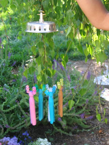 Lil' Mermaid's finished windchime