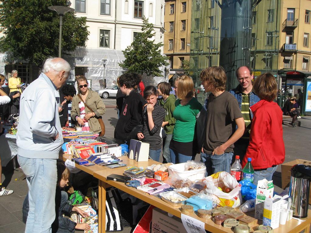 loppmarknad stockholm