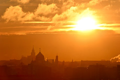 Sunrise in Moscow