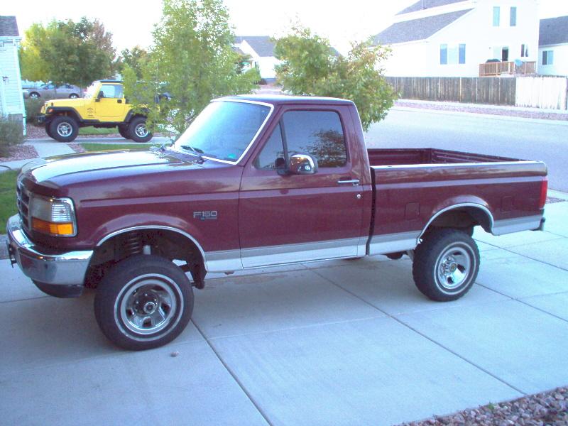 96 Ford F150 4x4 Conversion