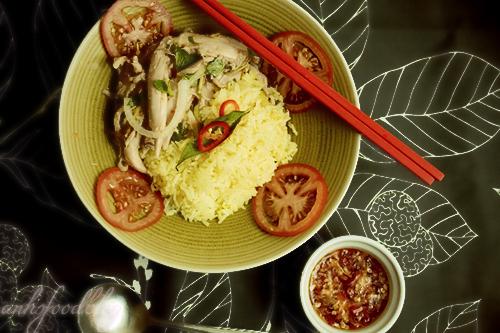 Vietnamese-style chicken rice