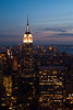 Once more (vauvau) Tags: newyorkcity windows sunset newyork night buildings dark skyscrapers rockefellercenter september late empirestate lit rockefeller 2009 offices topoftherock