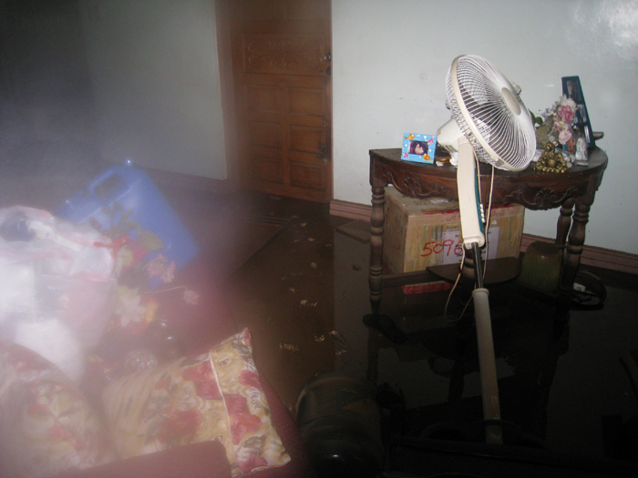 Living Room after Ondoy