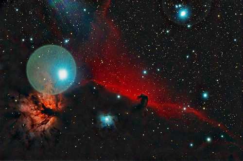 IC434 and the Horsehead Nebula