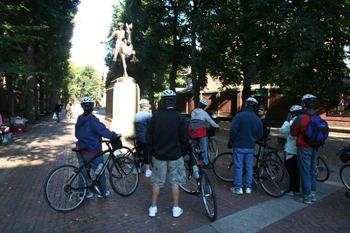 Paul Revere Ride to Freedom Bike Tour