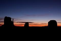Good morning star (Kristal Kraft ~ DenverDwellings) Tags: arizona sunrise utah rocks venus navajo monumentvalley navajonation westmitten eastmitten monumentshuntsmesa