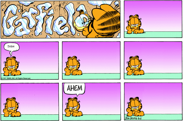 Garfield Minus Arbuckle, March 2, 1997