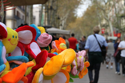 La Ramblas de Barcelona
