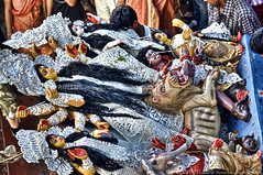 "Bengal bids adieu to Goddess Durga, Kolkata, West Bengal - India (Humayunn Niaz Ahmed Peerzaada) Tags: india by model memorial worship photographer goddess ceremony actor ritual maharashtra mumbai ahmed kolkata bengal calcutta ceremonies durgapuja rituals maa ghat adieu doss niaz humayun 1830 ghaut d90 pandal maadurga photography"" victorial goddessdurga peerzada durgapooja babughat nikond90 humayunn peerzaada humayoon wwwhumayooncom humayunnapeerzaada durgamaa durgapujacelebrations nikkorafsdx18105mmf3556edvr nikond90clubasia humayunnnapeezaada motherdurga durgapoojacelebrations theinvincible theinaccessible maadurgacelebrations demonmahishasur theinvinciblemaa durgadurga maatemporary pavilionpavilionplace baboorajchunderdossghaut baboorajchunderdoss rajchunder kolkatabyhumayunpeerzada kolkatabyhumayunnpeerzaada victoriamemorialbyhumayun"