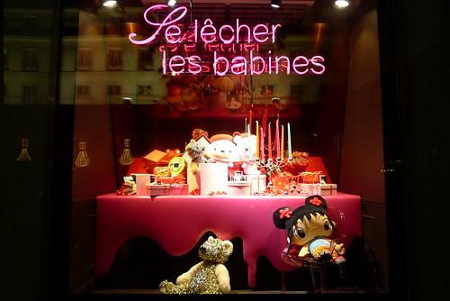 Vitrines Galeries La fayette- Noël Gourmand 2009