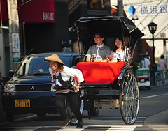 Female Jinrikisha Attendant /  () Tags: city vacation woman holiday sexy girl japan asian model kyoto candid kyo   driver paparazzi nippon garota mulheres oriental frau rickshaw kioto buggy miyako mujeres fille rtw japon nihon vacanze asiangirl roundtheworld japanesegirl ricksha globetrotter jinrikisha japn honshu schn   kyto  rickshawdriver  humanpoweredvehicle   worldtraveler landoftherisingsun  jinriksha      jinrikishaattendant kyotorickshaw  jinrikshaattendant