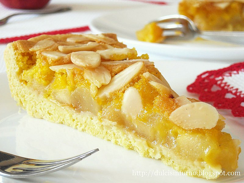 Crostata di Mele e Mandorle- Apple and Almond Tart
