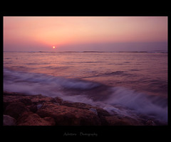 ~Another Day In Bali~ (Adettara Photography) Tags: longexposure sunset vacation bali holiday beach rocks wave unforgettable kuta ndfilter horizone adettara