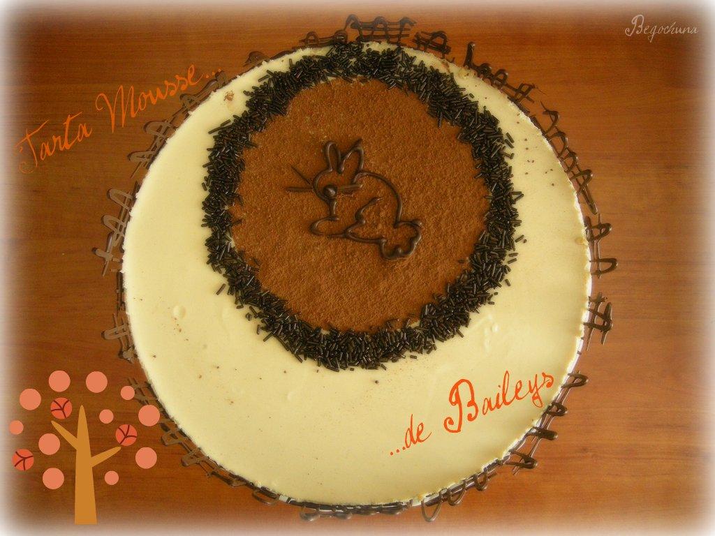 Tarta Mousse de Baileys