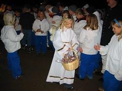 Christkindl in den Salzwelten Hallein (Salzwelten) Tags: weihnachten advent salzbergwerk bergwerk christkindl salzwelten
