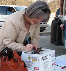 More donations (SalvationArmyIndiana) Tags: avon gfs turkeybowling freethanksgivingdinner