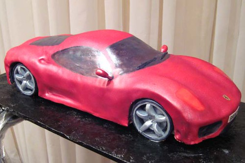 Ferrari Modena 360 Cake