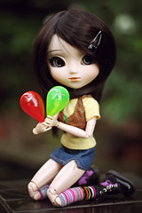 Two flavors (cgines) Tags: pullip kaela crazylabel bubblefun