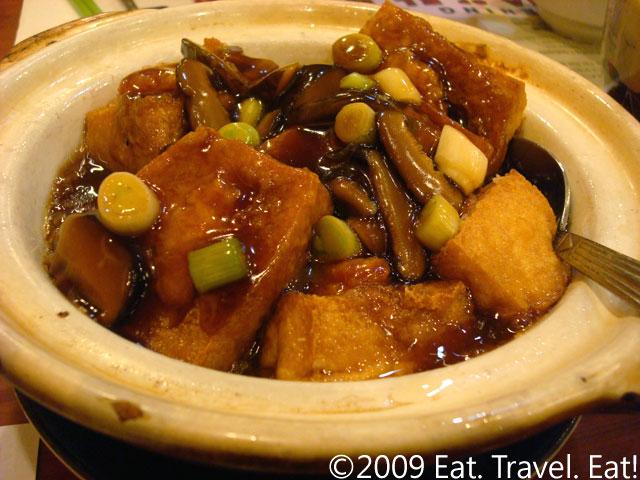 Soy Sauce Tofu Pot