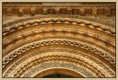 Porta dels Fillols (geoorgesf) Tags: españa spain catalonia catalunya romanesque cataluña portada lleida románico lérida ctsi arquivolta ronam elsegrià seuvelladelleida provinciadelleida pelscaminsdelspaisoscatalans portadelsfillols puertadelosahijados provinciadelérida comarcadesegrià catedralviejadelérida