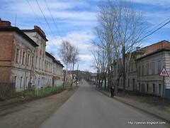 улица Большая Советская в г. Лысково