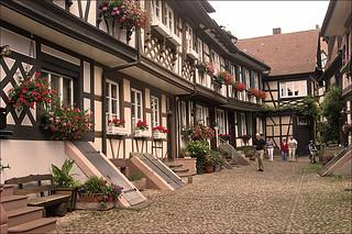 Alley in Gengenbach