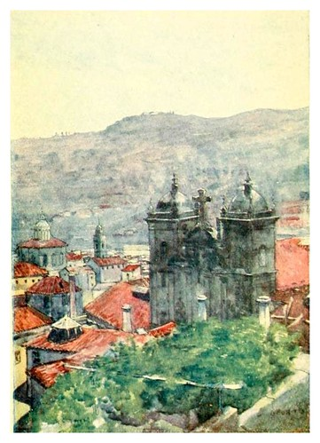 001-Desde una ventana en Oporto-Through Portugal 1907- A.S. Forrest
