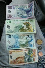 NZ money front