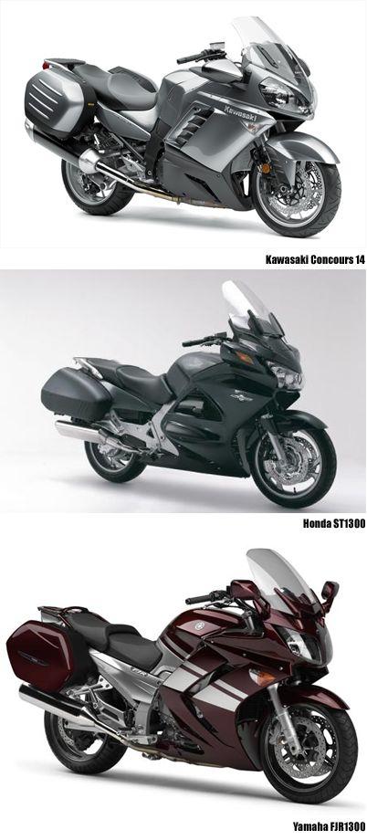 Kawasaki Concours Honda ST1300 Yamaha FJR1300
