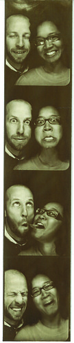 whit and me: photobooth