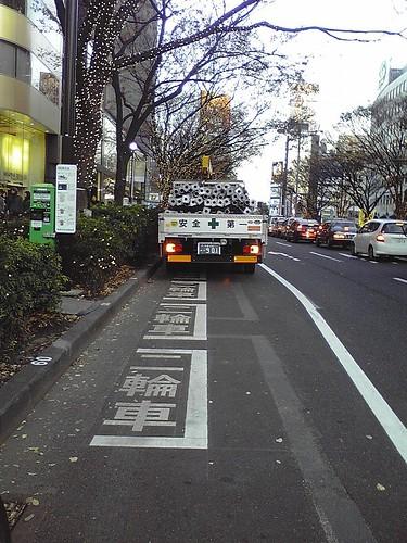 渋谷区表参道バイク用コインパーキング1