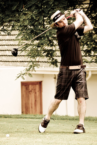 Rectron Golf Day - Tee Off-11