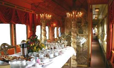 Private Rail Car - Virginia City - fine dining