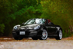 Gloss Black Roadster (Mishari Al-Reshaid Photography) Tags: road trees black green cars car photoshop canon focus automobile wheels convertible porsche 5d gloss kuwait boxster canondslr canoneos 2009 automobiles roadster carphotos carphotography coolcars carphoto canoncamera canonphotos canoneflens canonllens mishari kuwaitphoto kuwaitphotos kuwaitcars kvwc kuwaitvoluntaryworkcenter kuwaitvwc canonef7020028is canon580exiiflash kuwaitphotography misharialreshaid canon5dmarkii malreshaid misharyalrasheed