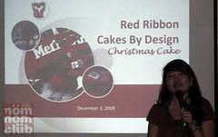 Santa-Wish-Cake-Red-Ribbon (letsgosago) Tags: redribbon santaswishcake santawishcake rhumbuttercake