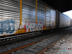 haos (ornetteflesh) Tags: train graffiti streak hobo freight haos markal moniker