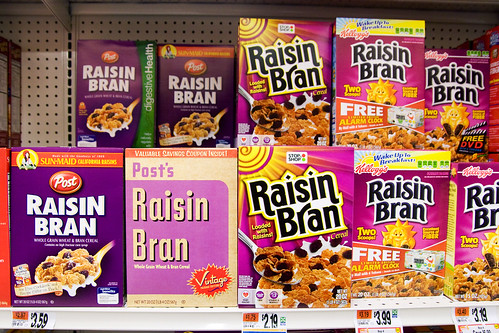 Lots of Raisin Bran