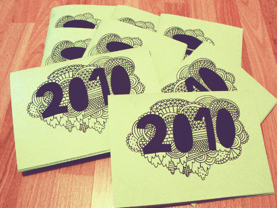 Calender Zine 2010