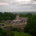 Looking down at Palenque
