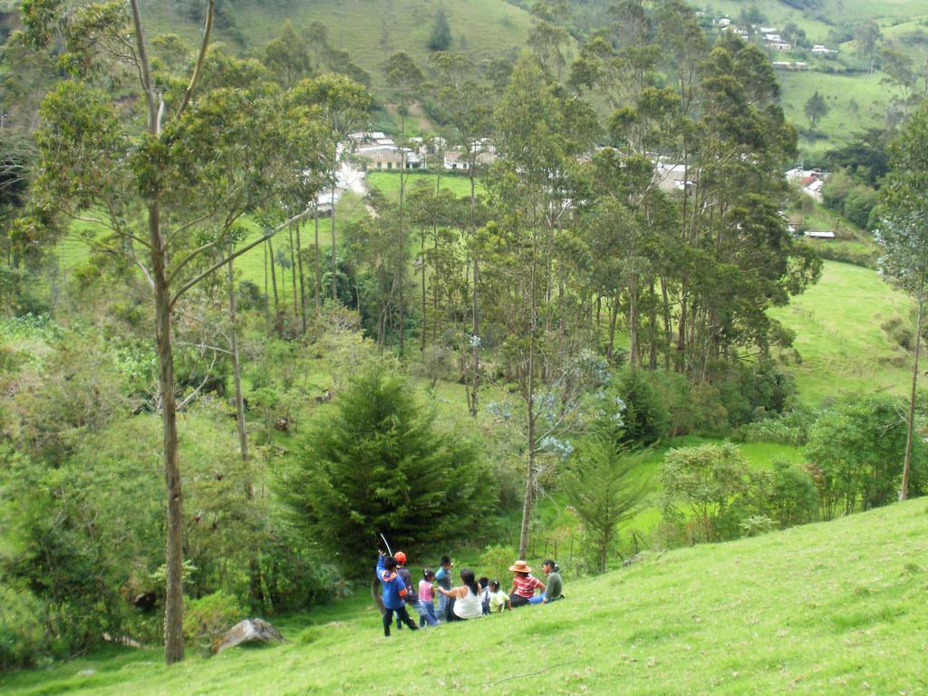 Las montanas de Coconuco, Colombia