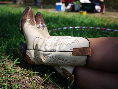 "127/365 - ""Boots and hula"""
